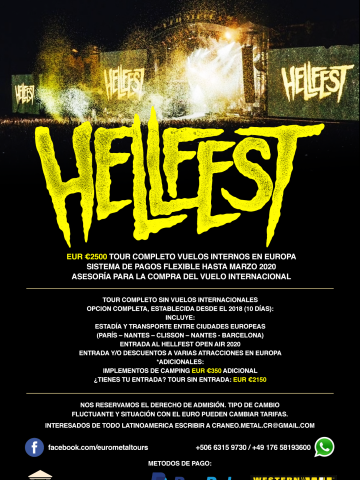 Hellfest Completo 2020
